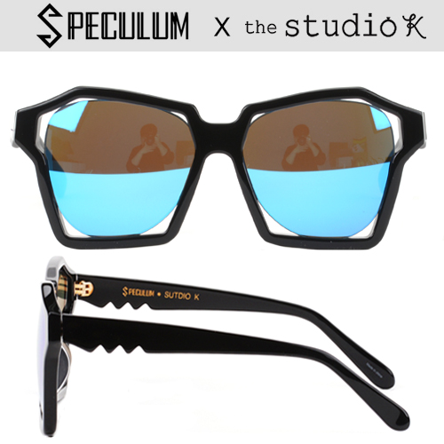 [SPECULUM] 스페쿨룸선글라스VISUALIZATION OF SOUND BLK B BLUE MIRROR X STUDIO K (10%자동할인)